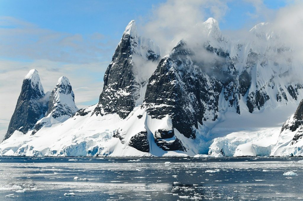 traveling to antartica is every person's bucket list